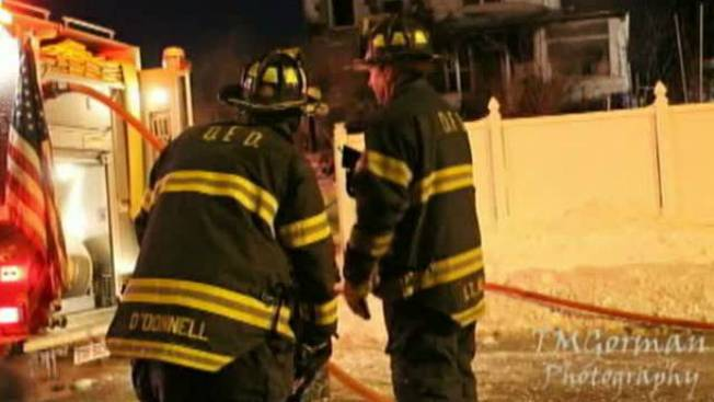 Family of 5 Displaced Following Quincy, Mass. Fire