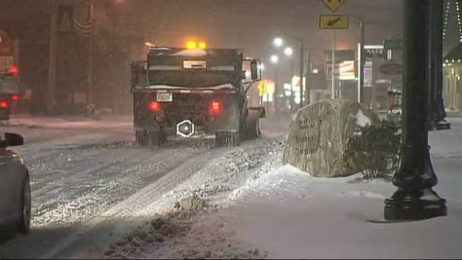 Storm Conditions Worsening in Bourne, Mass.