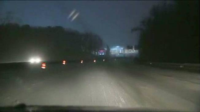Roads Slick, Snow-covered in Southeastern Mass.