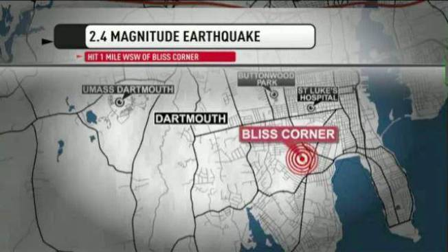 No Damage Reported After 2.4 Magnitude Quake Strikes Southeastern Mass.