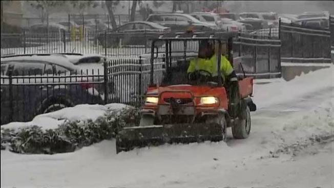 Snow Removal Budgets Stretched Around New England