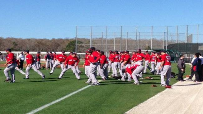 Photo Gallery: Red Sox Back in Action at Spring Training