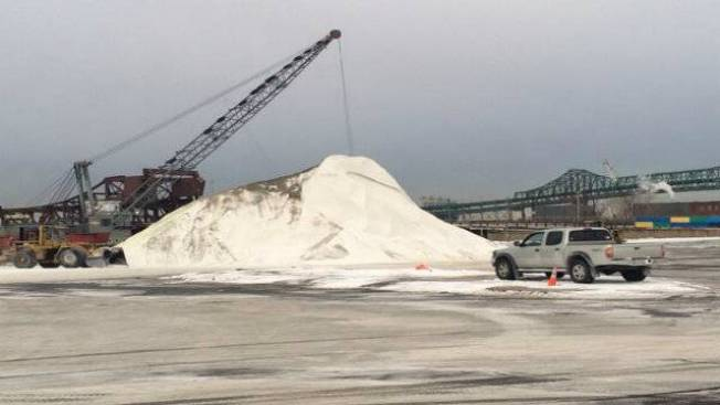 Salt Supply in Tight Demand as Another Winter Storm Hits New England
