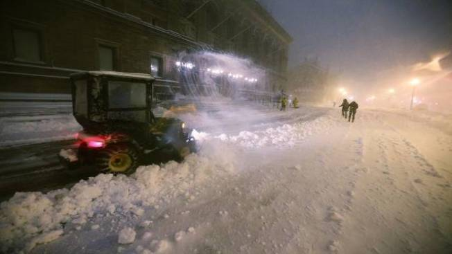 Mass. Spends Over 100M So Far on Snowstorms This Season