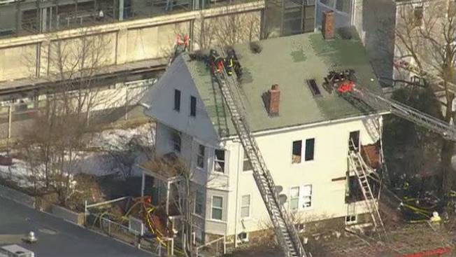 5 Displaced After 2-alarm Fire in Boston's Dorchester Neighborhood