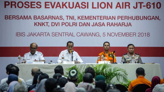 Crashed Lion Air Jet's Airspeed Indicator Malfunctioned on Last 4 Flights