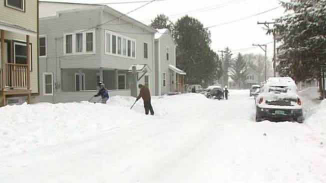 Vt. Slammed by March Snowstorm