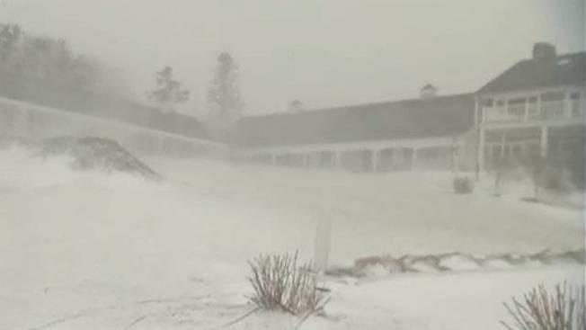 Multiple Warnings in Effect on Cape Cod as Storm Hits New England