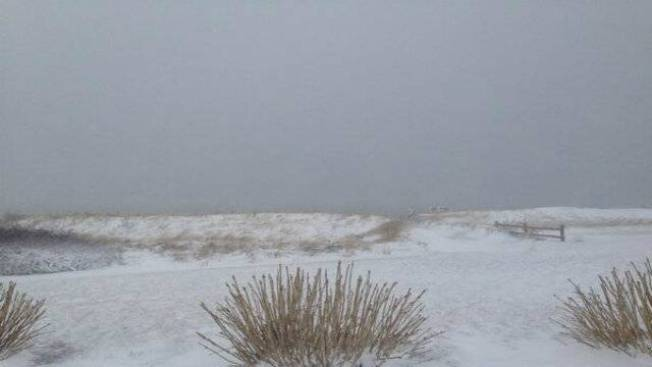 Photo Gallery: Spring Nor'easter