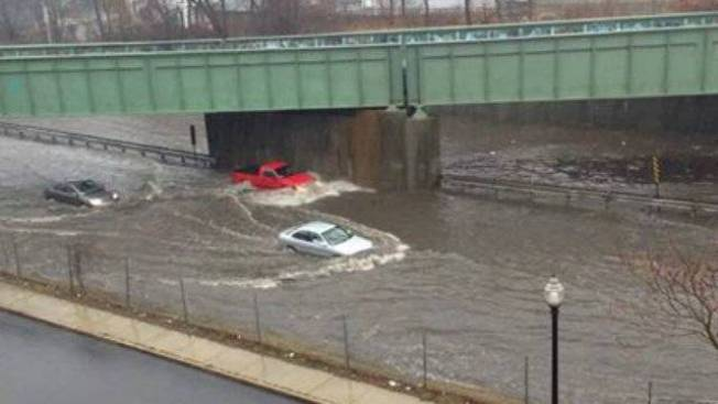 Flood Warnings Remain in Effect Across New England