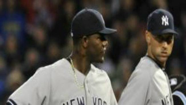 Yankees' Pineda Ejected for Pine Tar in Game Against Red Sox