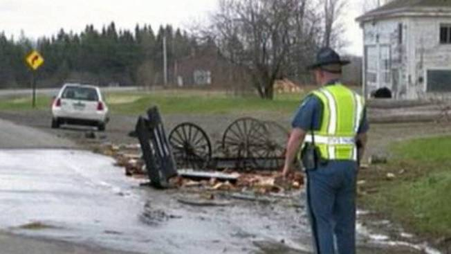 Amish Kids Hospitalized After Horse-drawn Carriage Hit by Car
