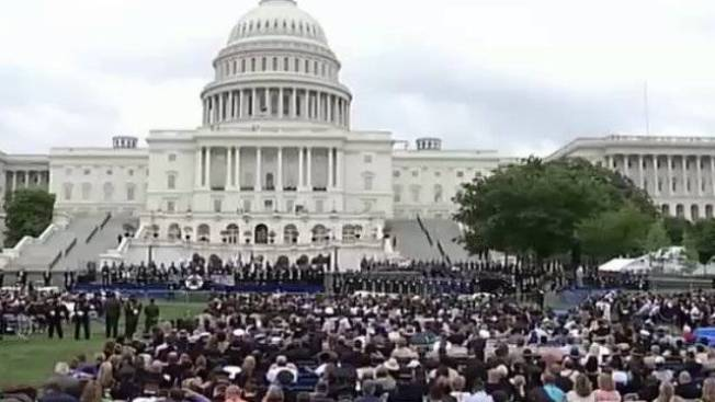 Fallen MIT Officer Honored in DC Memorial Service