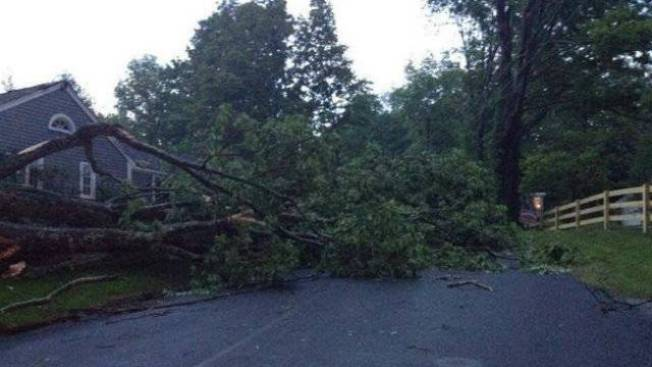 NWS: Tornado Did Not Touch Down in Conn.