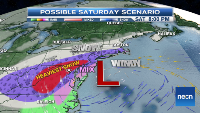Major Weekend Winter Storm to Drop Feet of Snow for Some, Deliver Strong Wind, Coastal Flooding