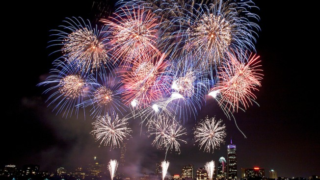 New England July 4th Fireworks Displays