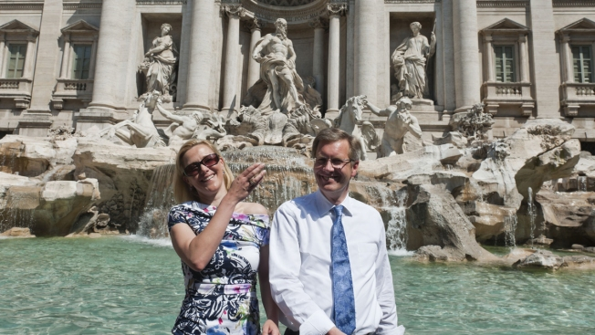 Rome's Trevi Fountain Holds Riches in Loose Change