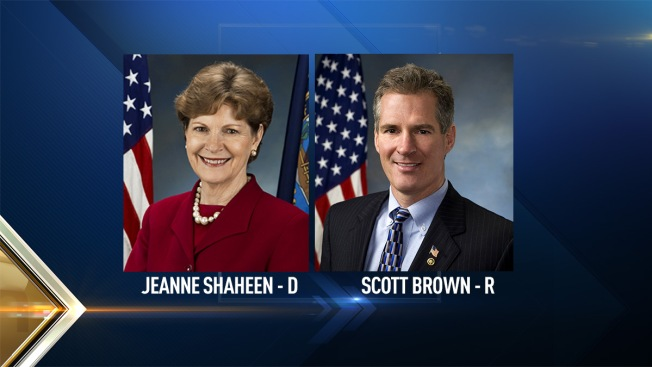 Jeanne Shaheen, Scott Brown Meet for Third Debate for U.S. Senate