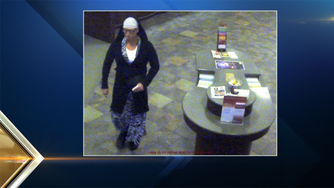 Man Wearing Zebra Dress Robs Bank