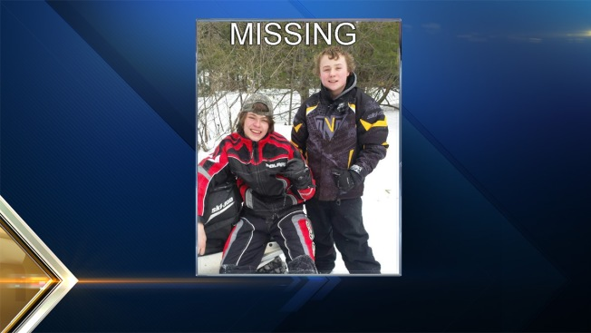 Missing Teen Snowmobilers Found