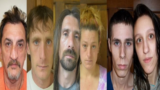 6 Arrested Following Meth Bust in Houlton, Maine