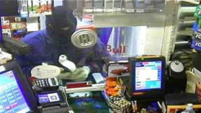 Police: Robber Pours Lighter Fluid at Gas Station, Threatens Worker