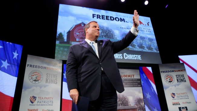 N.J. Gov. Christie Courts Iowa Conservatives