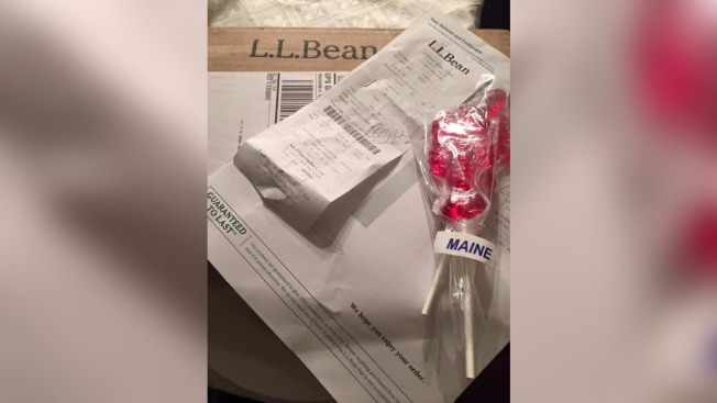 L.L. Bean Returns Lost Lollipops to Store Visitor