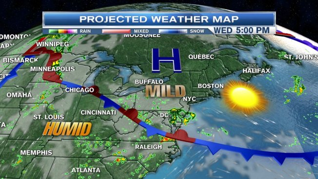 Spectacular Sunshine Continues for New England; Storms Ahead