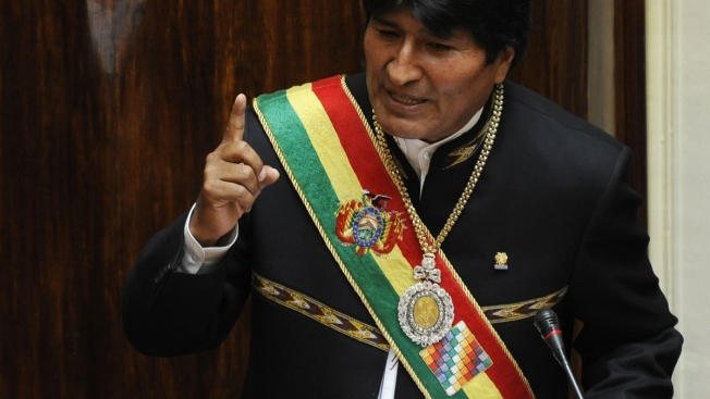 Bolivian Presidential Regalia Stolen From Car in Red-Light District