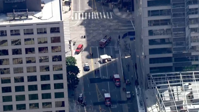 Construction worker killed in fall from downtown Los Angeles high-rise hotel