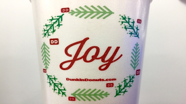 Dunkin' Donuts Releases Holiday-Themed Coffee Cup