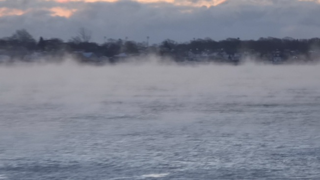 Record Cold Blasts New England