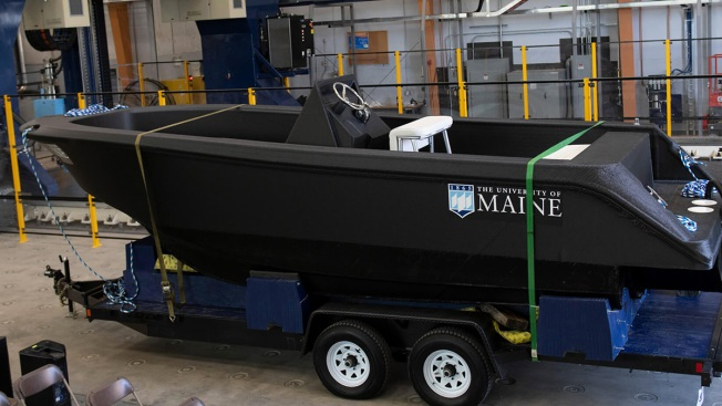 Gonna Need a Bigger Boat? UMaine Has a Printer for That