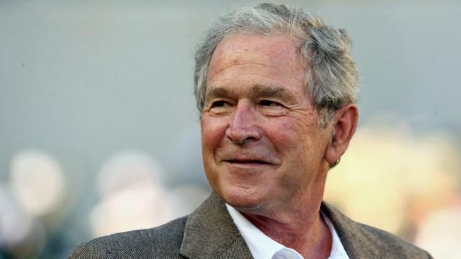 George W. Bush Didn't Vote for Clinton or Trump