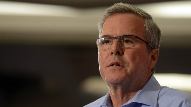 Bush Is an Official 2016 Candidate — for Half a Sentence