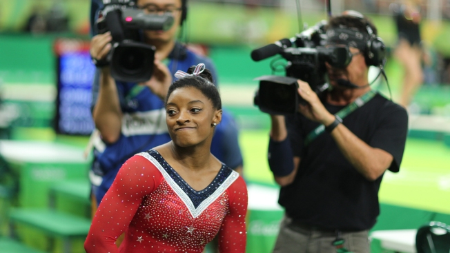 Simone Biles on Five Gold Medals: 'I Think You Guys Want It More Than I Do'