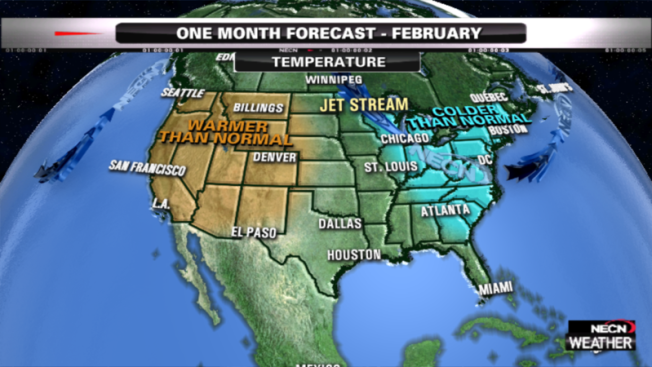 February 2015 Monthly Forecast: Cold Air Rules the East, Snow Blitz to Ease