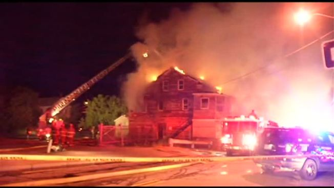 Suspicious Fire Destroys Vacant Home