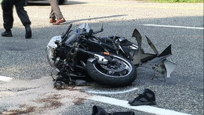 2 Injured When Motorcycle Hits Unmarked Rhode Island State Trooper Car