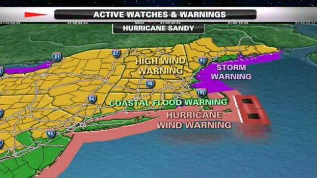 Hurricane Sandy Power Outages Necn
