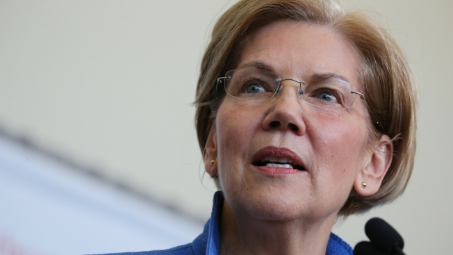 Sen. Elizabeth Warren Delivers Commencement Address, Urges Graduates to Persist in Face of Challenges