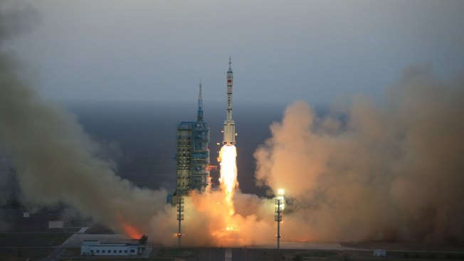 China Launches Crewed Mission to Dock With Space Station