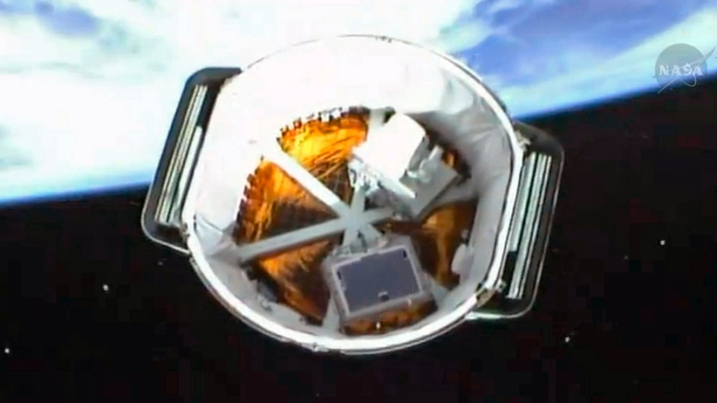 Easter Morning Delivery for Space Station