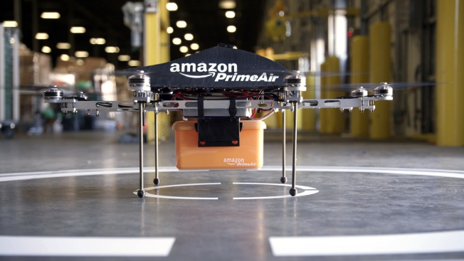 Amazon Gets FAA's OK to Test Delivery Drones