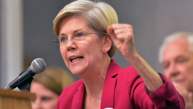 Warren Responds to Banks Withholding Donations to Democrats