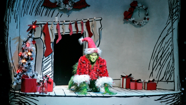 Snow Grounds 'How The Grinch Stole Christmas' Boston Cast