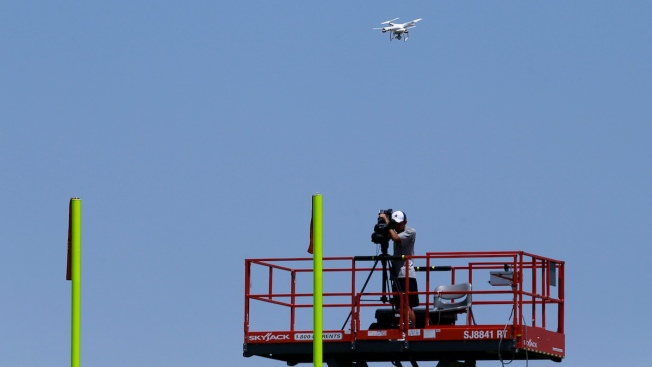 NFL Gets Permission for Limited Use of Drones