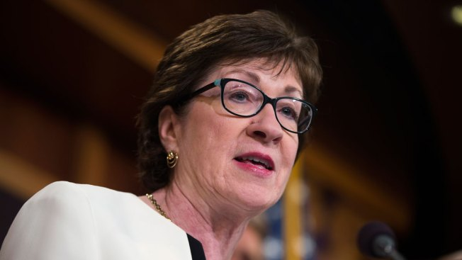 Maine Senator Susan Collins Makes Light Of Leg Injury