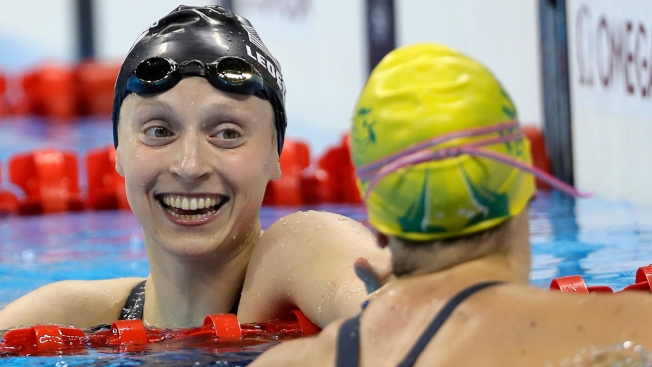 Rio Day 5: Anthony and Taurasi Break Records, Ledecky is Golden and Other Top Moments